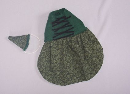 Forest Print Wench Outfit