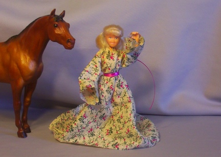 Flower Renaissance Dress for Breyer Doll