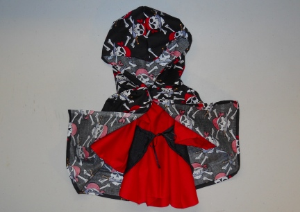 Baby Brynna Ren Dress with Over Skirt and Cloak
